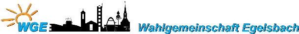 Wahlgemeinschaft Egelsbach seit 1956!